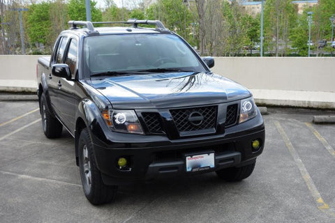 2009 18 Nissan Frontier Headlights With Monster Shrouds
