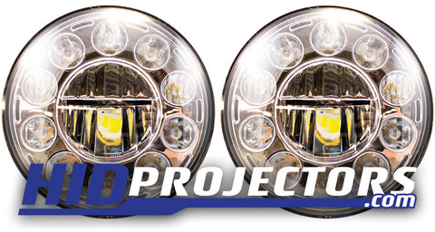 "HD10 7"" LED Headlights"
