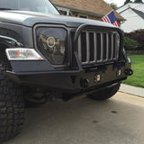 08-18 Jeep Liberty KK Headlights With Monster Shrouds