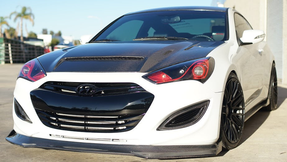 2013 Hyundai Genesis Coupe Headlight Customization