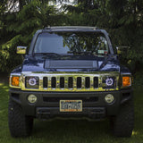 05'-10' Hummer H3 Headlights With Monster Shrouds