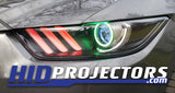 2015-2017 Ford Mustang Headlight Customization