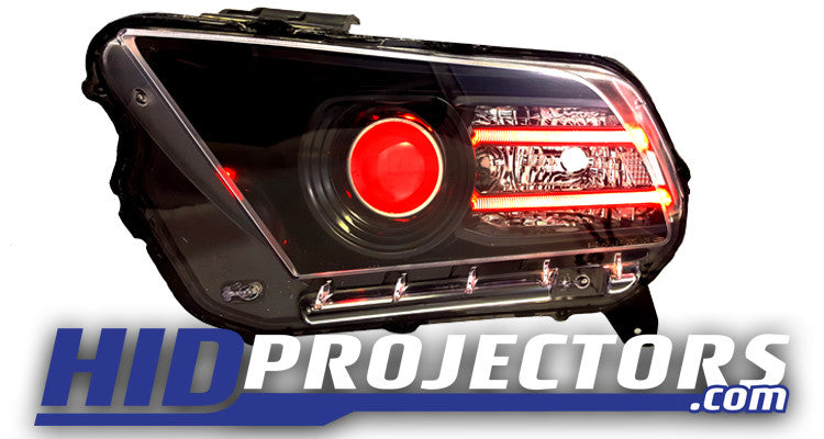 2013-2014 Ford Mustang Headlight Customization