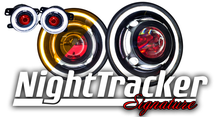 NightTracker Signature Headlight / Fog Light Bundle
