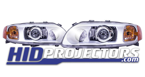 Volvo S60R / V70R Bi-Xenon Projector Retrofit with LED DRL