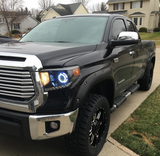 2014+ Toyota Tundra Headlights With Monster Shrouds