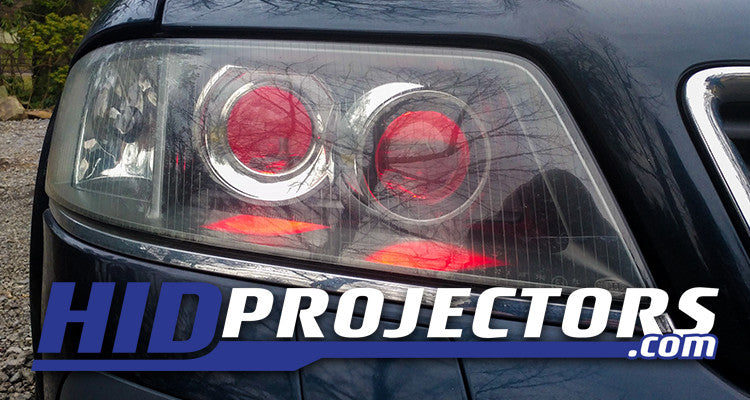 Audi A6 Projector Headlights | Quad-Retrofit Audi Allroad Headlights