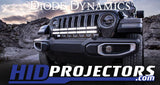2018+ Jeep JL Wrangler Bumper LED Light Bar Kit