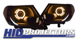 2009-2020 Nissan Frontier Headlights With Monster Shrouds