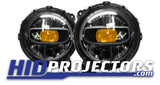 Jeep JL Wrangler and Gladiator LED Devil Eyes (sold in pairs)