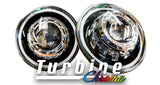 Turbine Chroma Headlight / Fog Light Bundle