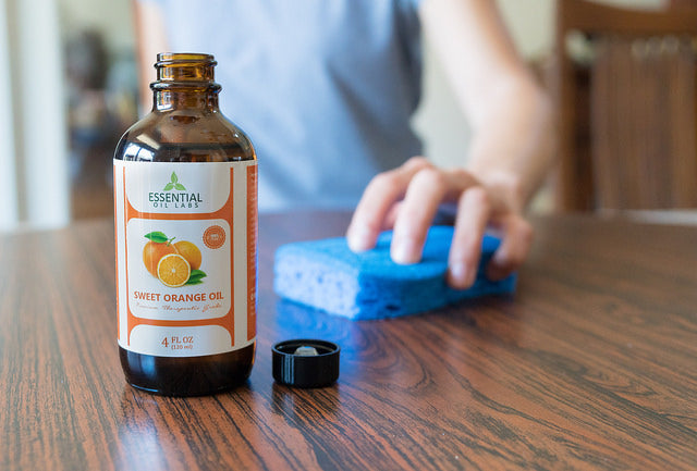 Sweet Orange Essential oil - 4 oz.