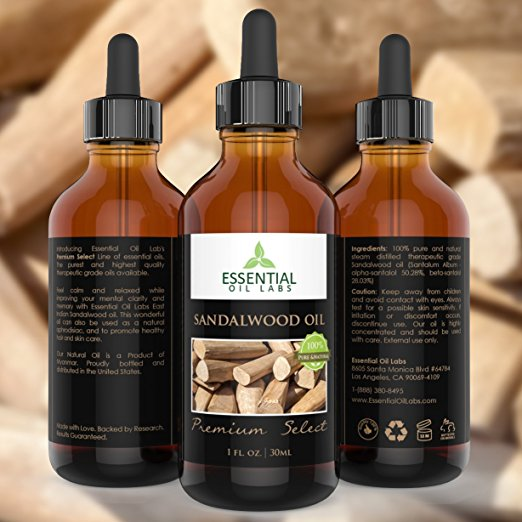 Sandalwood Oil - 1 oz.