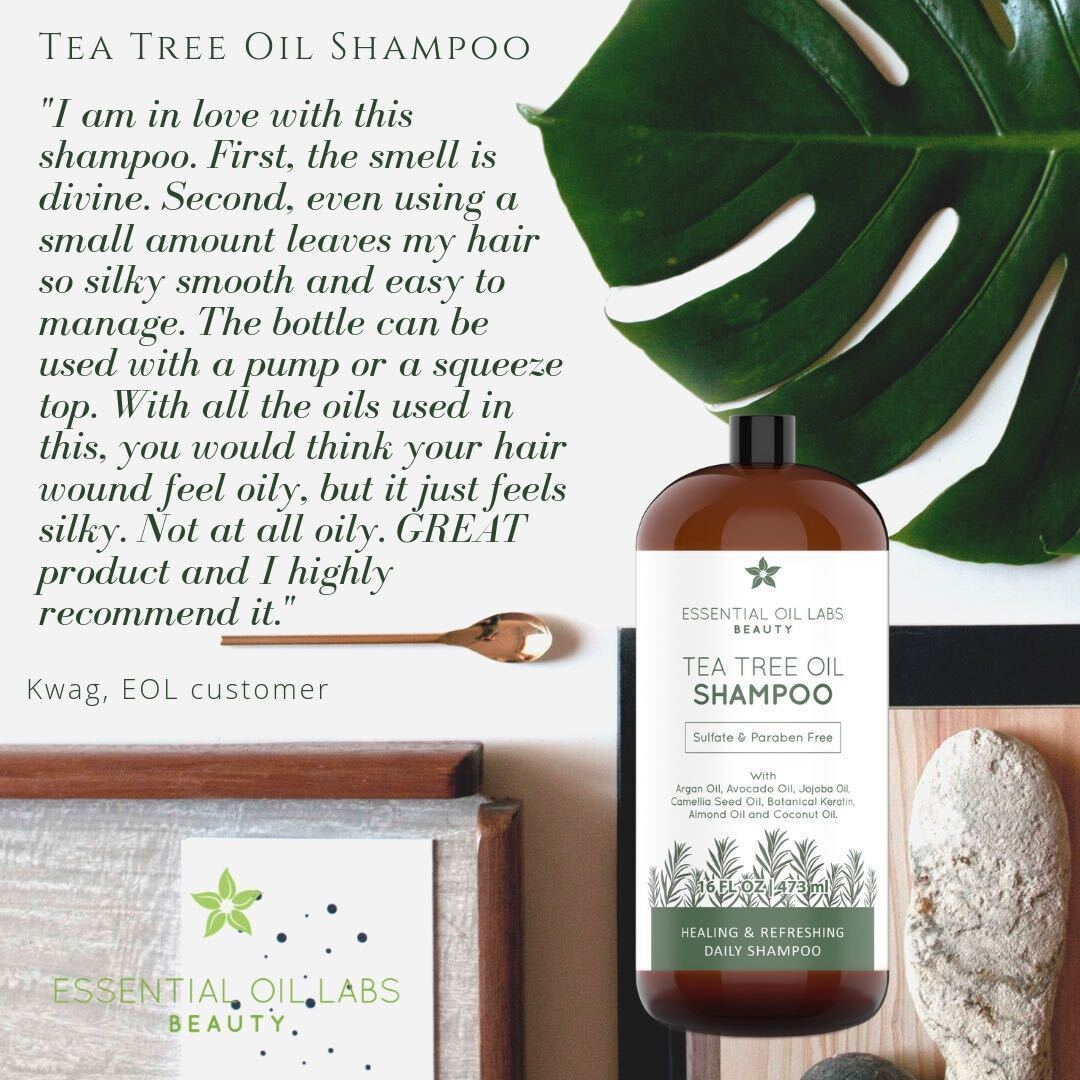 Tea Tree Oil Shampoo, 16 oz.