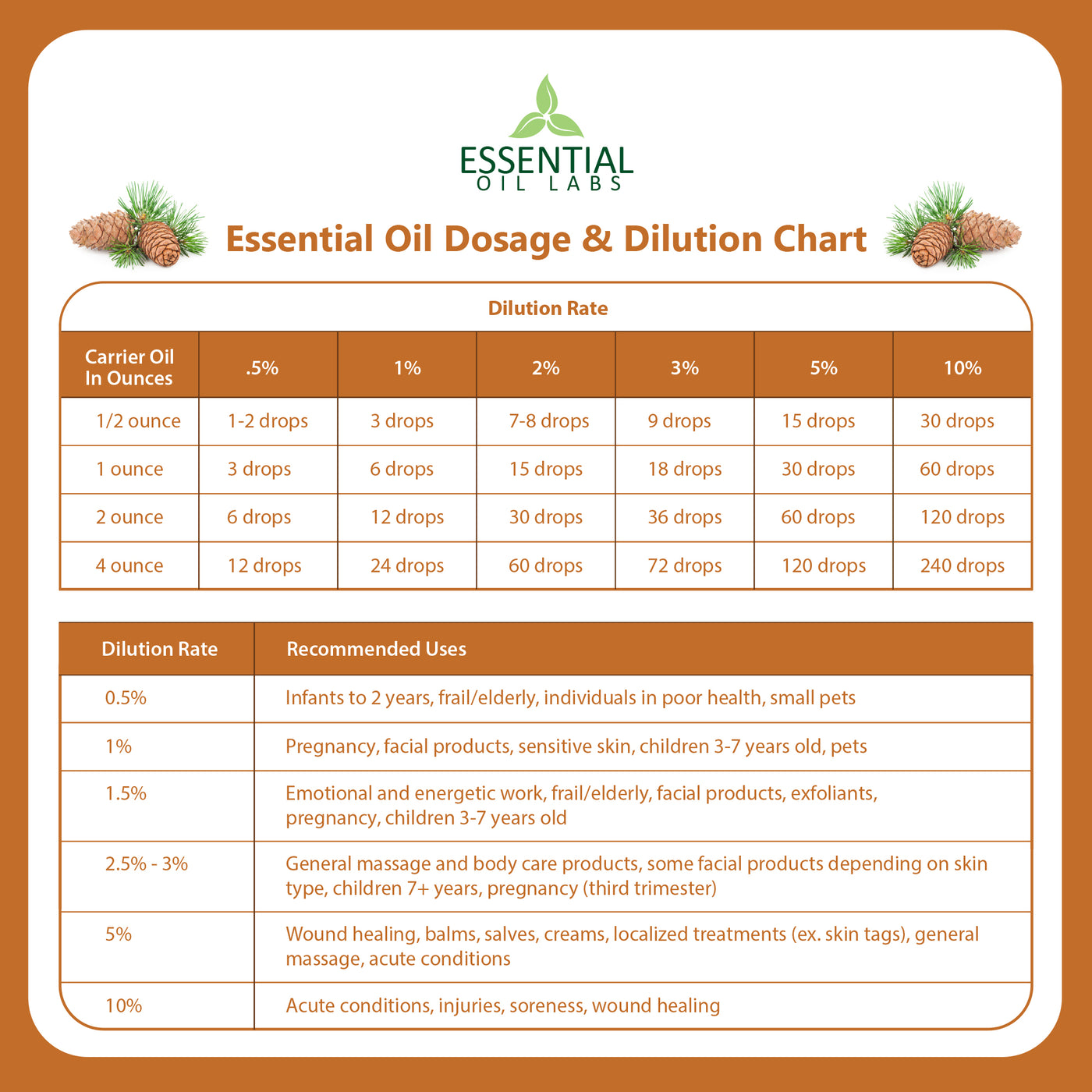 Cedarwood Essential Oil - 4 oz.