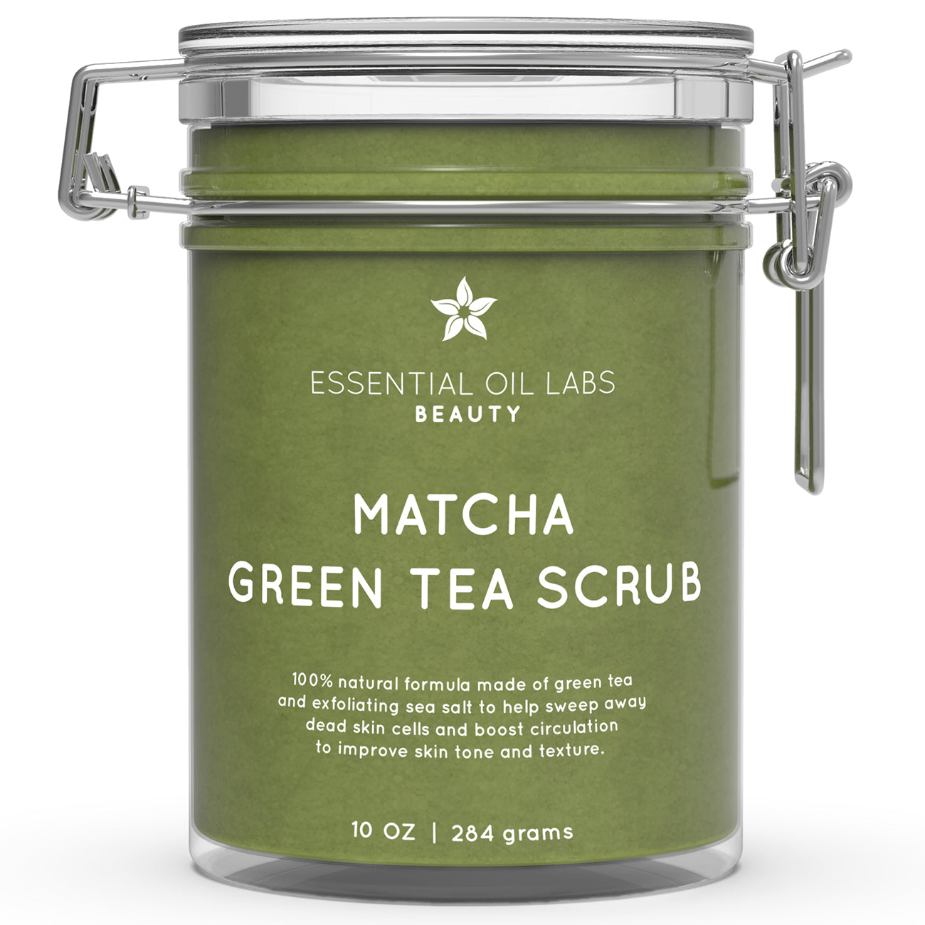 Matcha Green Tea Scrub, 10 oz.