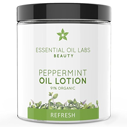 Peppermint Oil Lotion