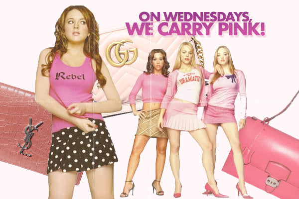 On Wednesdays, We Carry Pink!