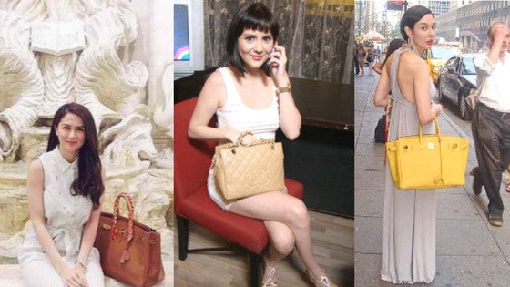 Filipino Celebrity Moms and their Designer Bags