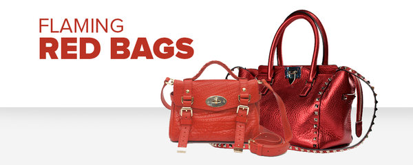 Welcome the Fire Rooster Year with these 12 Flaming Red Bags!