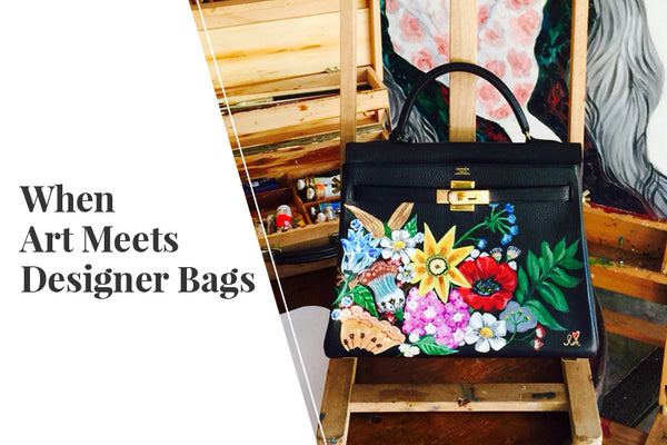 7590bf6910a8 When Art Meets Designer Bags – Reloved