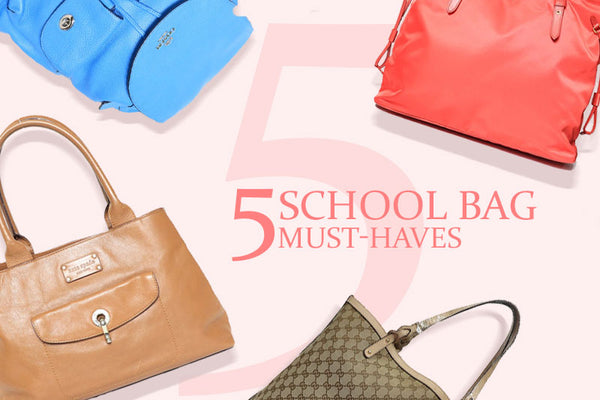 5 School Bag Must-Haves