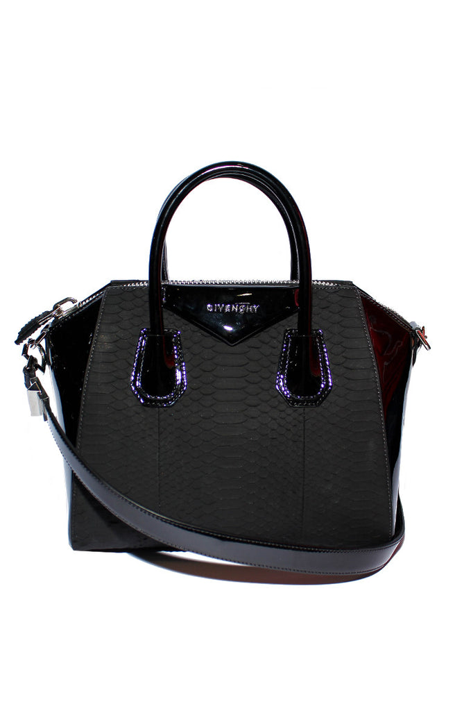 1a860b0a83 Black Python Leather Small Antigona Bag – Reloved