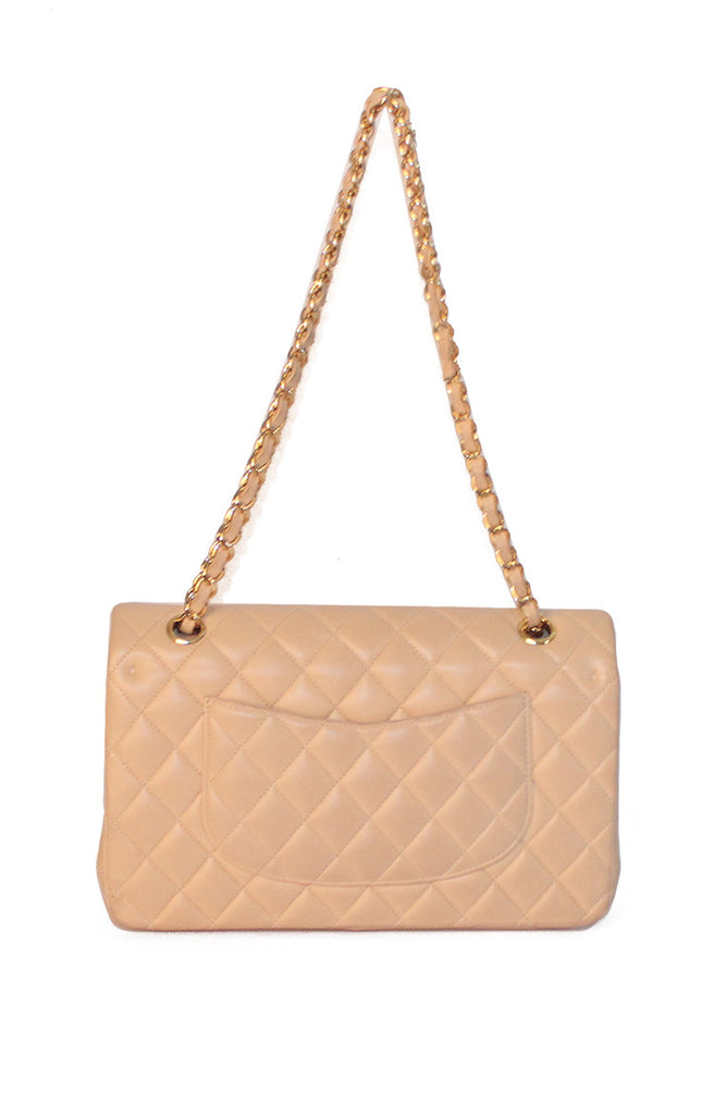 Quilted Medium Double Flap Bag
