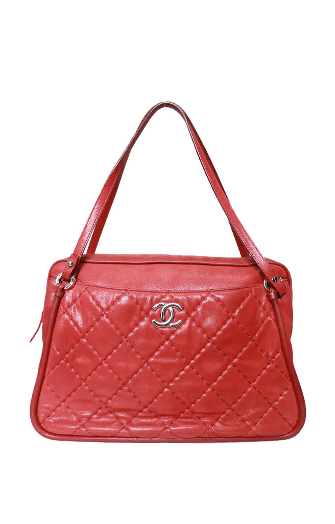 Chanel Camera Tote- Red