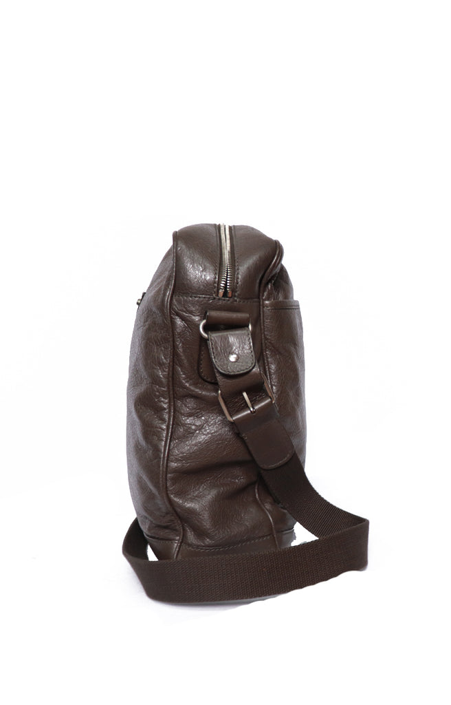 Balenciaga Messenger MM Brown