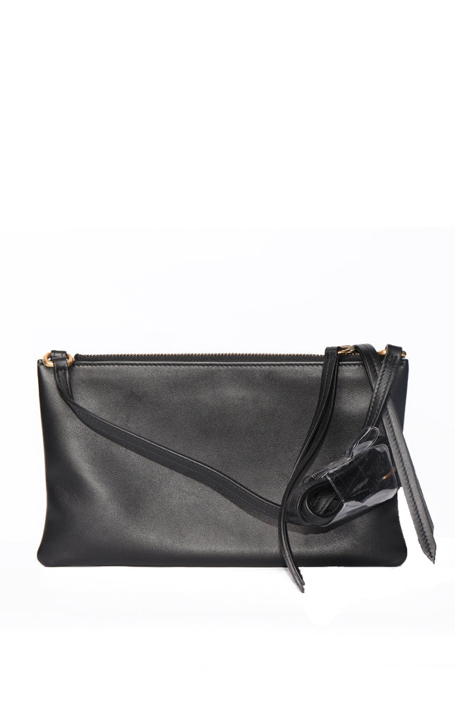 Gucci GG Marmont Shoulder Bag with Pouch - Black