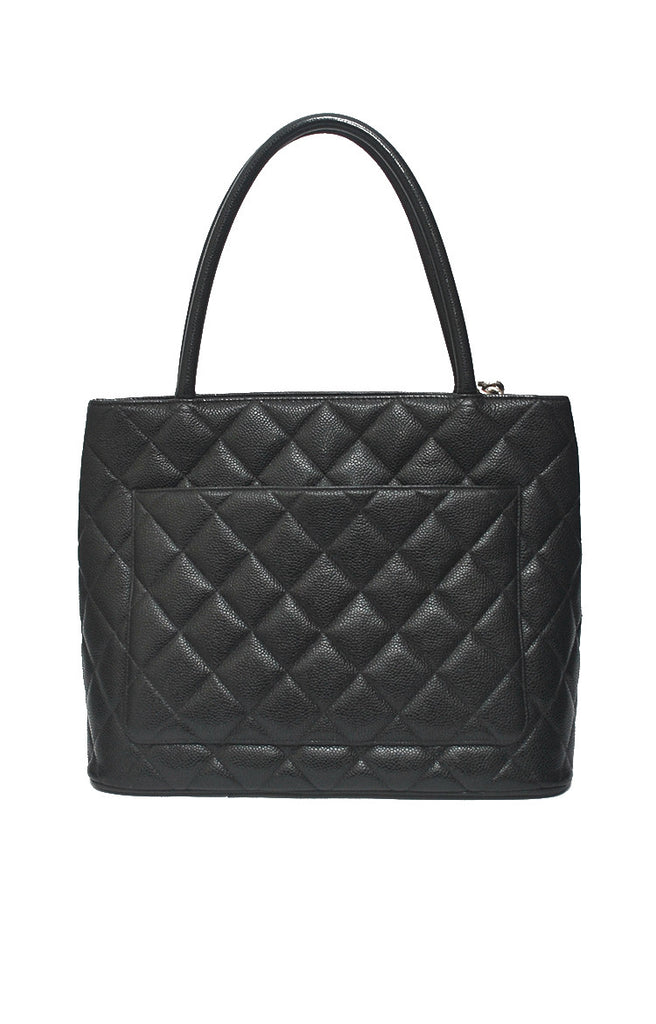 Medallion Caviar Leather - Black II