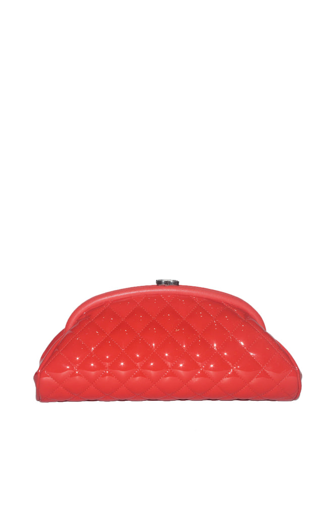 Chanel Timeless Clutch Red