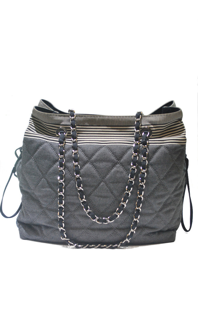 Chanel Canvas (Canbon) Denim Blue SHW