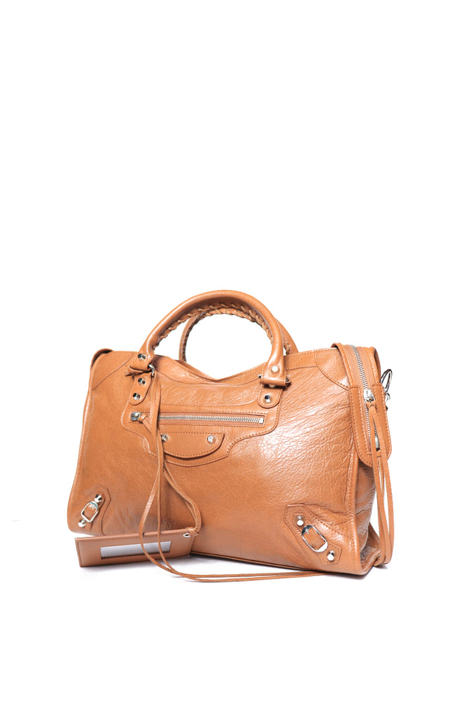 Balenciaga City Brown