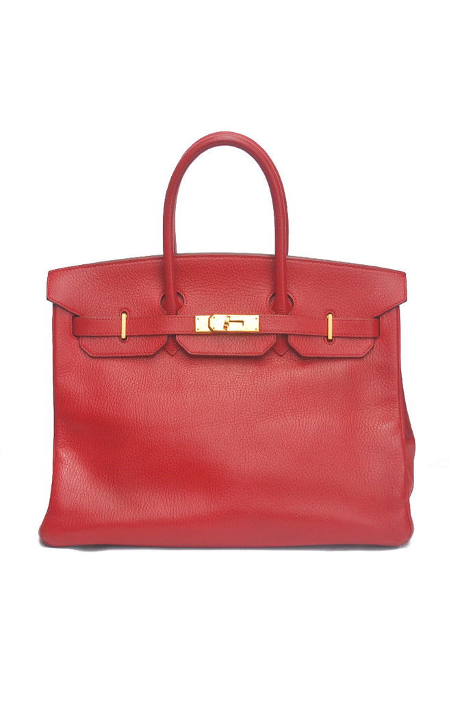 Hermes Birkin 35 - Red Handbag