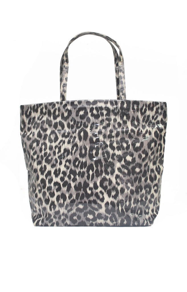 Leopard Shopping Tote