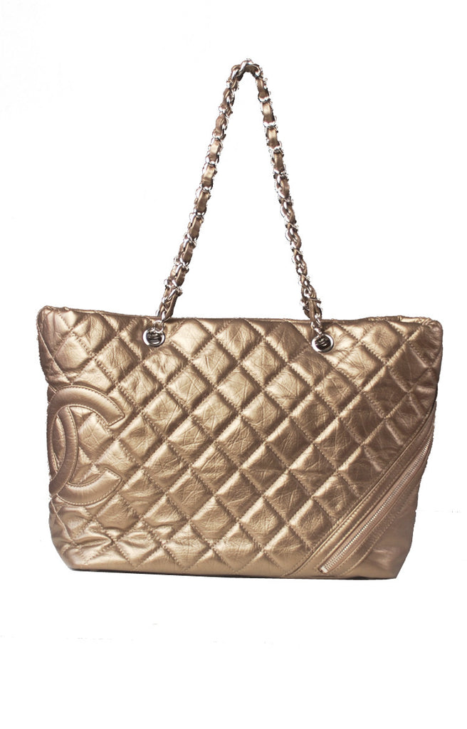 227d0cac60bb Chanel CC Cambon Large Shopping Tote – Reloved