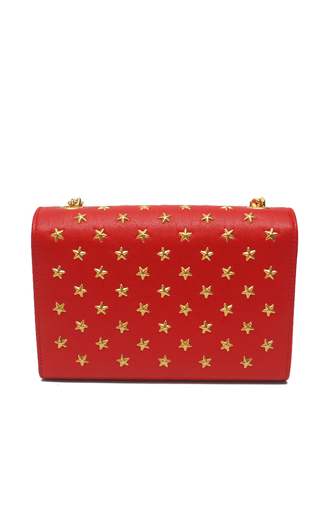 Betty Star Gold Chain Slingbag - Red