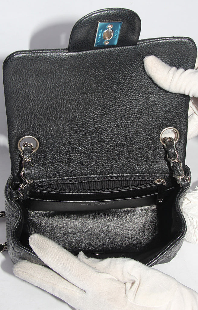 Chanel Mini Flap Bag Black