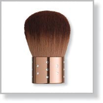 Kabuki Brush with Bling Copper Handle
