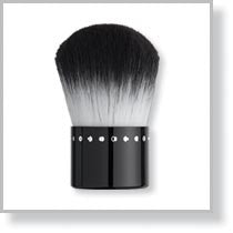 Kabuki Brush with Bling Black Handle
