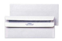 #10 Flip & Stick Security Envelopes Printed in 1-Color