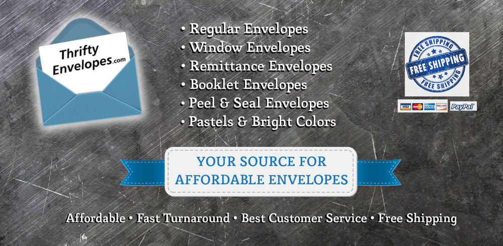 Thrifty Envelopes | Your Source for Affordable Envelopes