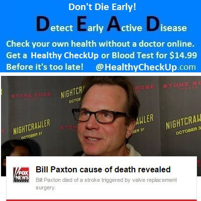 Bill Paxton Did Not Detect Early Active Disease
