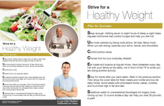 A Healthy Life Weight Loss Success Tips
