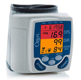 Blood pressure wrist monitor for a health check up