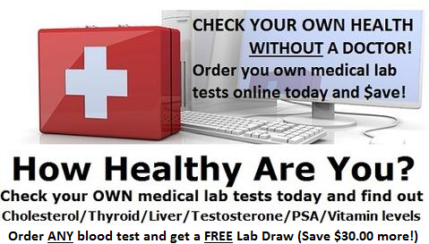 Order a blood test online without health insurance or a doctor online