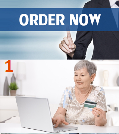 Step 1:  Order Online Without Health Insurance Or Doctor