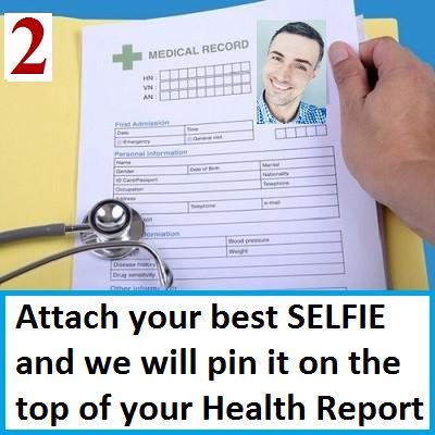 Do-It-YourSelf Health Report Selfie
